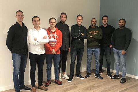 Het klantenservice team